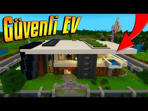DÜNYANIN EN GÜVENLİ EVİ MCPE | Minecraft PE: BKT - Ruslar.Biz