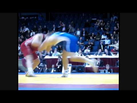 Schmidt (GER) vs Papadopoulos (GRE) European Greco Roman Wrestling Championship 2009