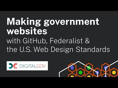 Workshop: Making Government Websites with Federalist + GitHub Basics