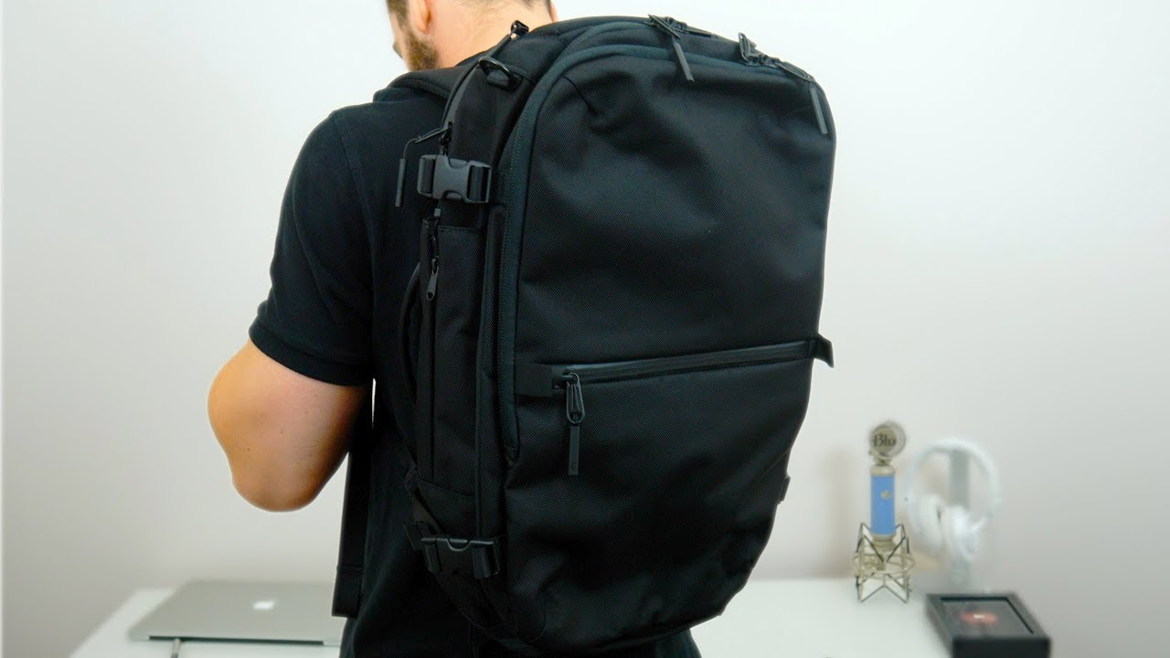 bd6f457a5e2e The Aer Travel Pack 2 Is The Perfect Travel Backpack - YouTube