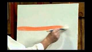 Jerry Yarnell teaches wet on wet blending technique