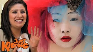 Scary Mask - Just Kidding Hidden Camera Prank