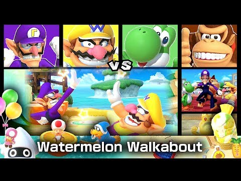 Super Mario Party Gameplay Watermelon Walkabout 20 Turns #7