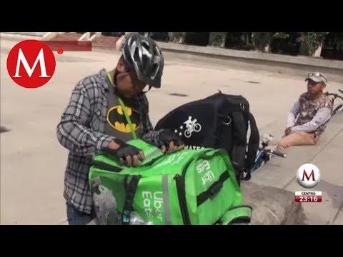 Campaña Busca Proteger A Repartidores En Bicicleta