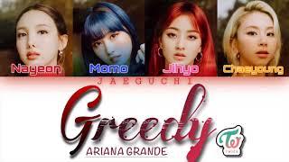 TWICE 트와이스 (Nayeon, Momo, Jihyo, Chaeyoung) - Greedy (Cover)…