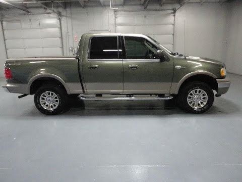 Ford F-150 King Ranch >> RARE Low Mile 2003 Ford F-150 4x4 Crew Cab King Ranch For ...