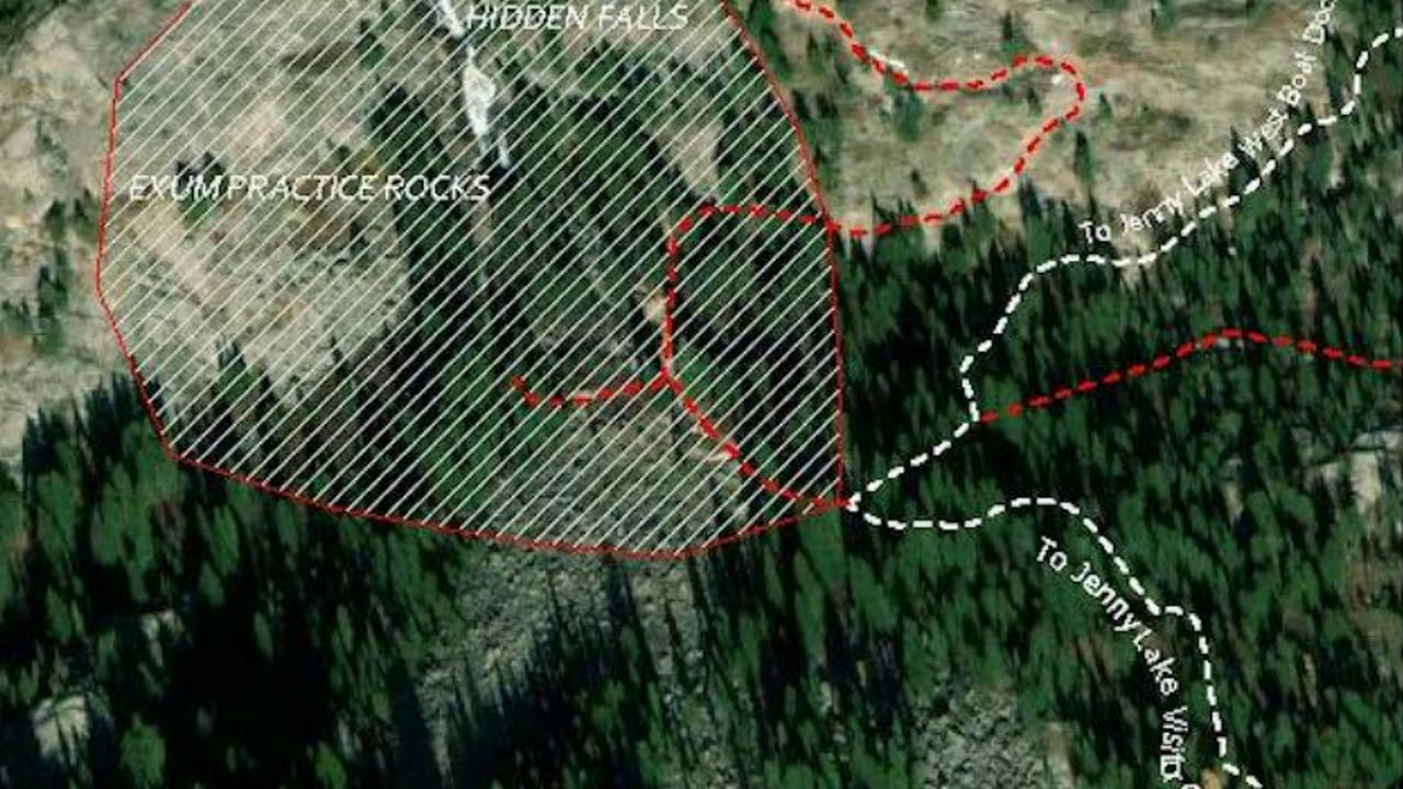 Expanding Cracks and Fissures Open Up In Grand Teton National Park, Area Closed Off