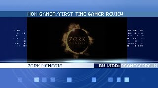 """Zork Nemesis"" Non-Gamer/First-Time Gamer review"