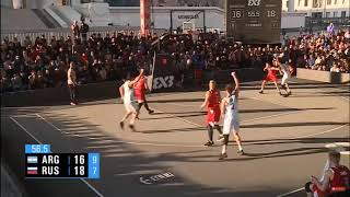 Pedro Rossi - Medalla de Bronce FIBA 3X3 2019