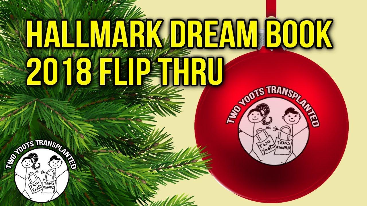 Hallmark Keepsake Ornaments 2018 Dream Book Flip thru - YouTube