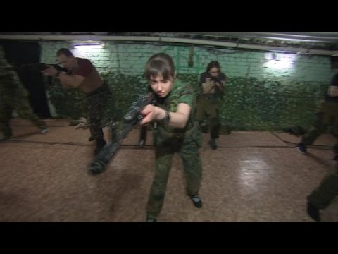 Russian right-wing militia prepares for war
