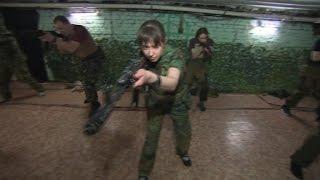Russian right-wing militia prepares for war