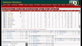 Moneyball Part 1 - 2002 Oakland Athletics OOTP Replay