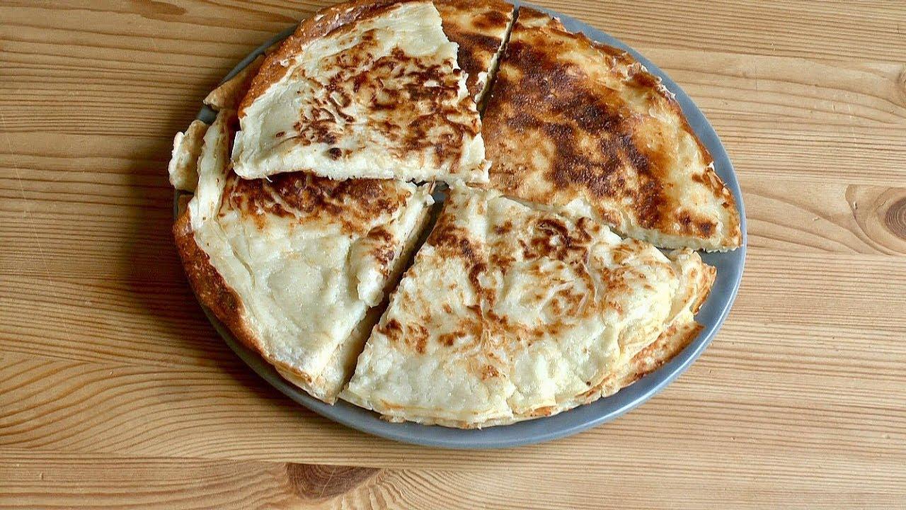 Ленивые Хачапури/Лепешки с сыром на кефире/Быстрый Завтрак/Просто и Вкусно