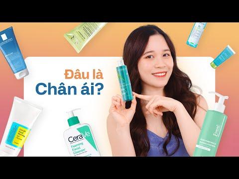 So sánh 8 sữa rửa mặt TRỊ MỤN đình đám| La Roche-Posay, SVR, Cosrx, Aderma, Emmié, Cerave