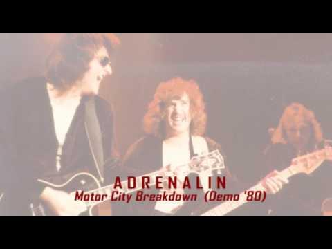Adrenalin - Motor City Breakdown (Demo '80)