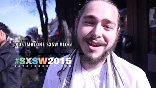 Post Malone - explains how White Iverson came about (SXSW 2015 Vlog)