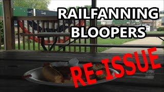 2014-2015 Railfanning Bloopers/Mistakes Montage