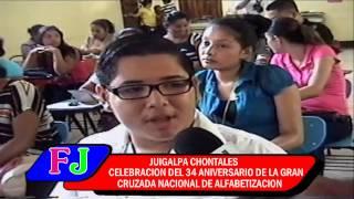 CELEBRACION DEL 34 ANIVERSARIO DE LA CRUZADA N. DE ALFABETIZACION
