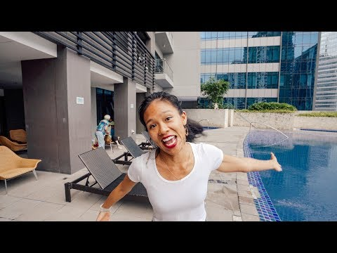 BGC Apartment Tour, what $2,000 a month gets you in Manila