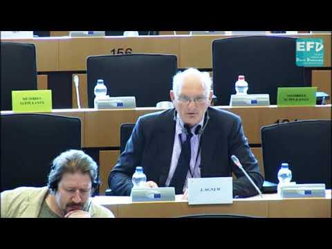 Assessing sewage sludge fertiliser at AGRI committee - Stuart Agnew MEP