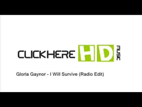 OFFICIAL MUSIC Gloria Gaynor - I Will Survive (radio edit)