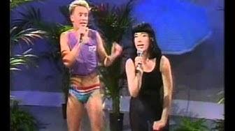 Petri Lehtinen & Johanna Kare/ MTV3 1990 Kielletyt Leikit