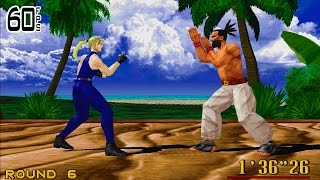Virtua Fighter 2 - 1cc - Hardest - 60FPS (No commentary)