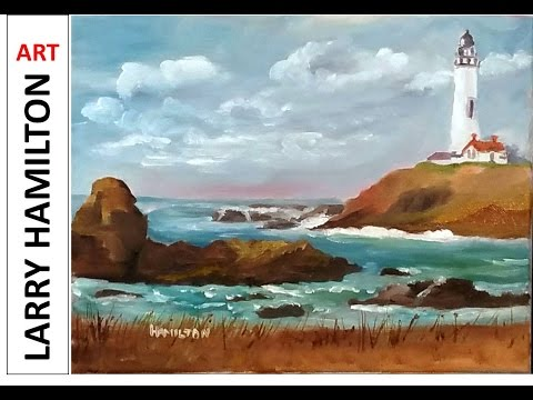 Painting with Larry Hamilton Live  - Oil Painting Class - Jan. 18, 2017 -1:00PM - 3:30PM