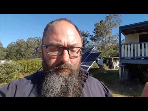 Off grid solar power - Electricity production compared to electricity usage