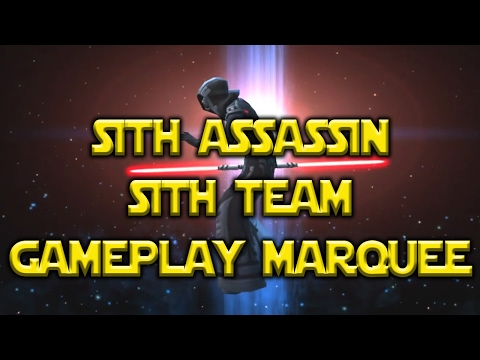 Star Wars: Galaxy Of Heroes - Sith Assassin Sith Team Marquee Event