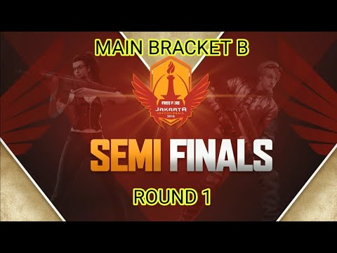 Jakarta Invitationals | Round 1 Main Bracket B | Semi Finals Garena Free Fire Indonesia