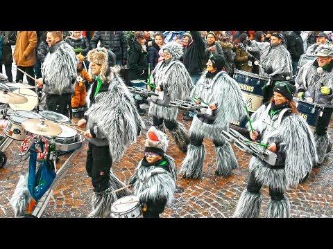 German carnival music 2016 4K Guggenmusik Konzert - Magga Drums Sickenhausen.