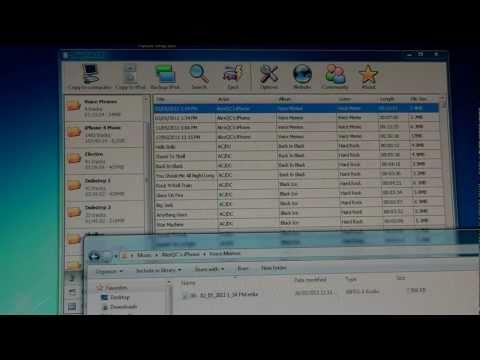 Sharepod - Transférer les musiques de votre iPod/iTouch/iPhone vers votre PC !