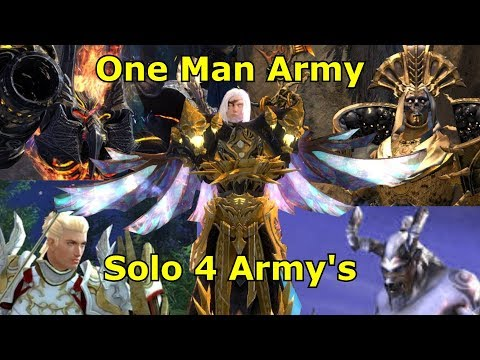 Guild Wars 2 : Spellbreaker Solo 4 Army's ( Best Solo Build ) thumbnail