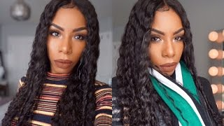 Malaysian Full lace TIFFANY wig MYFIRSTWIG.COM MFC002 Loose Curly Review