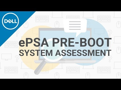ePSA Pre-boot System Assessment (Official Dell Tech Support)