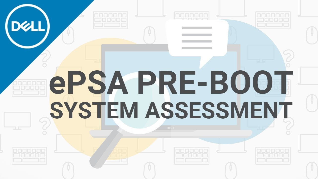 epsa pre boot system assessment official dell tech support  [ 1280 x 720 Pixel ]