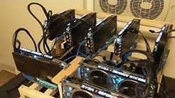 My Frist Mining Rig FINAL FORM (How much money it earns a day)