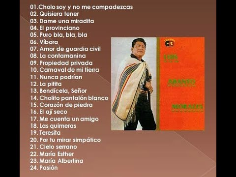 Cholo Soy - Luis Abanto Morales - Grandes Exitos - Full Album - Album Completo