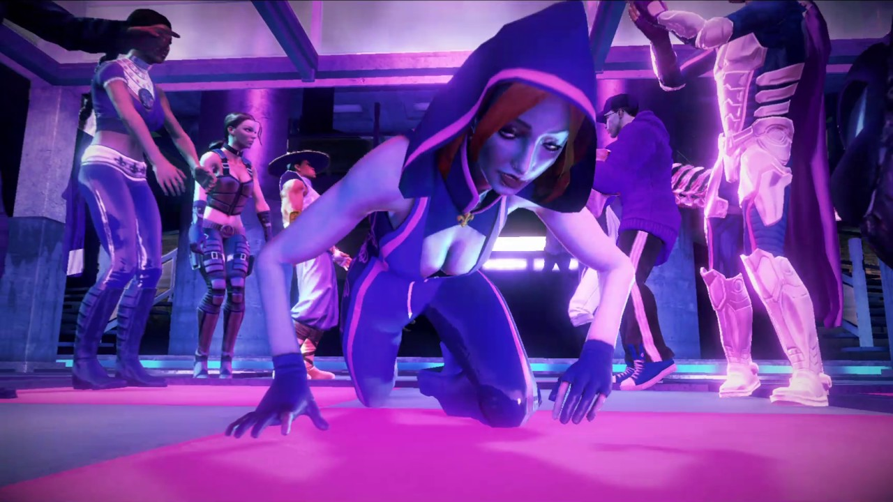 Saints row 4 glitches you might throw up from - YouTube