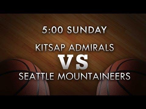 Kitsap Admirals vs Seattle Mountaineers - 12/08/13