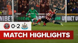 Sheffield United 0-2 Newcastle United | Premier League highlights