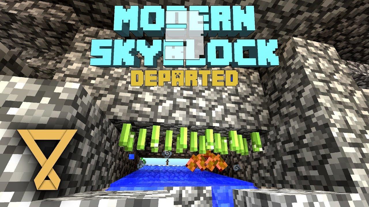 Xem Punji Mobfarm - Modern Skyblock 3 #14 [Let's Play