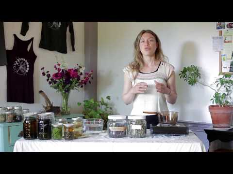 Thyme Herbal - Making Herbal Syrups from the Art of Home Herbalism online