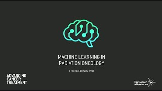 Webinar: Machine learning in radiation oncology
