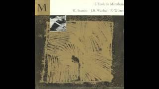 Silent Tone Record/「マンハイム学派の音楽」/カール・リステンパルト、ポール・マカノヴィツキー、ゲオルク・フリードリヒ・ヘンデル、ヘルムート・ヴィンシャーマン/CFD:279