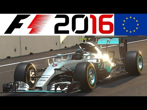 F1 2016 PS4 Gameplay German #1 – Einführungsrunde + Baku + Manueller Start – Lets Play Formel 1 2016