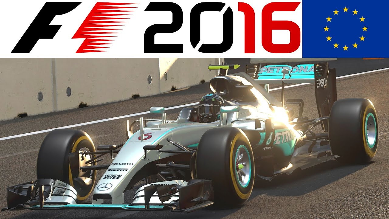 f1 2016 ps4 gameplay german 1 einf hrungsrunde baku. Black Bedroom Furniture Sets. Home Design Ideas