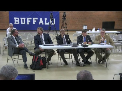 Wyoming Legislative Joint Committee on Appropriations 2018, Day One